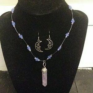 Jewelry - Amethyst Moon 2 piece Jewelry Set